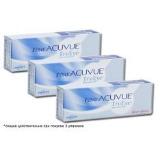 Акция! 3 упаковки 1-Day Acuvue Moist  по 30 линз со скидкой 10%