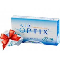 Акция линзы AIR OPTIX AQUA