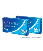 Акция Air Optix Plus HydraGlyde