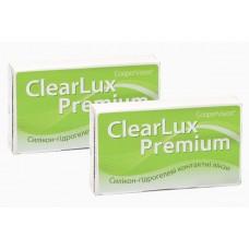 Акція! 2 упаковки ClearLux Premium по 3 лінзи зі знижкою до 13%