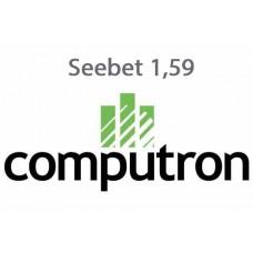 Очковая поляризационная линза Computron Seebet 1,59