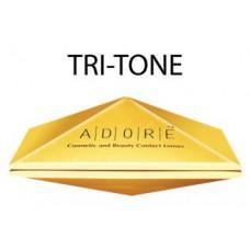 Квартальные цветные линзы Adore Tri-Tone