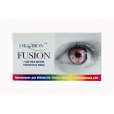 Квартальные цветные линзы OkVision Fusion