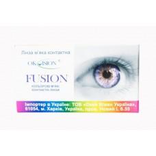 Квартальные цветные линзы OkVision Fusion (Fancy)