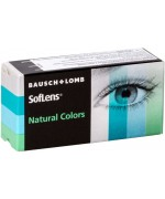 Акция Квартальные цветные контактные линзы Soflens Natural Colors