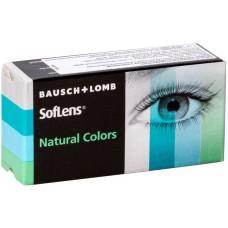 Акция! Скидка 20% на цветные линзы Soflens Natural Colors (2 шт)