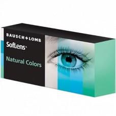 Квартальные цветные контактные линзы Soflens Natural Colors