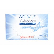 Торичні контактні лінзи Acuvue Oasys For Astigmatism