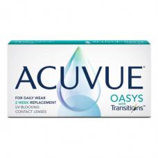 Контактные линзы Acuvue Oasys With Transitions