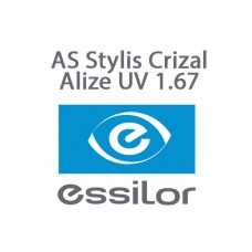 Очкова лінза Essilor AS Stylis Crizal Alize UV 1.67