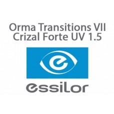 Orma Transitions VII Crizal Forte UV 1.5