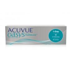 Одноденні контактні лінзи Acuvue Oasys 1-Day with Hydraluxe