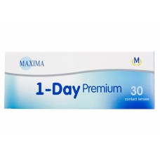Одноденні контактні лінзи Maxima 1-Day Premium