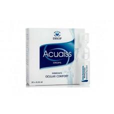 Увлажняющие капли Aquaiss Drops Monodoses