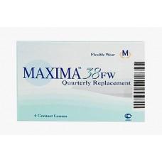Квартальные контактные линзы Maxima 38 FW