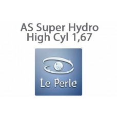 Очкова лінза Le Perle AS Super Hydro High Cyl 1,67