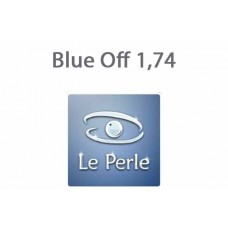 Очкова лінза Le Perle Blue Off 1,74