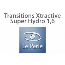 Очкова фотохромна лінза Le Perle Transitions Xtractive Super Hydro 1,6