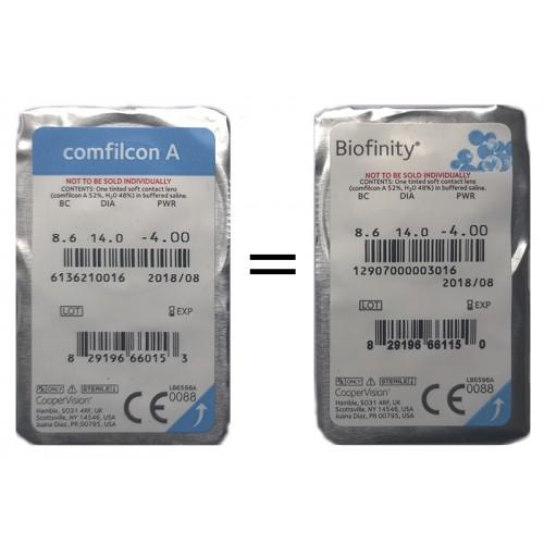 Купить контактные линзы Биофинити по низким ценам в Киеве и Украине ... 59c1553a6b8a3