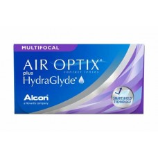 Мультифокальні контактні лінзи Air Optix plus HydraGlyde Multifocal