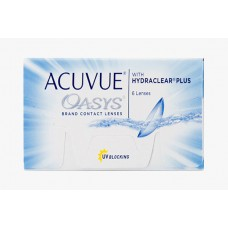 Контактні лінзи Acuvue Oasys With Hydraclear Plus