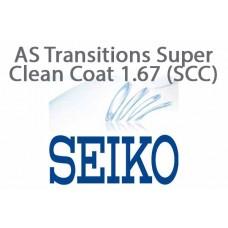 Очковая линза Seiko AS Transitions Super Clean Coat 1.67 (SCC)