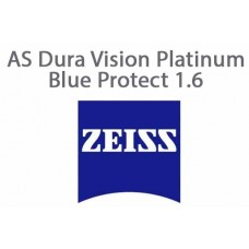 Очкова лінза Zeiss AS Dura Vision Platinum Blue Protect 1.6