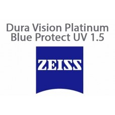 Очкова лінза Zeiss Dura Vision Platinum Blue Protect UV 1.5