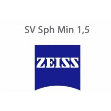Очковая стеклянная линза Zeiss SV Sph Min 1,5